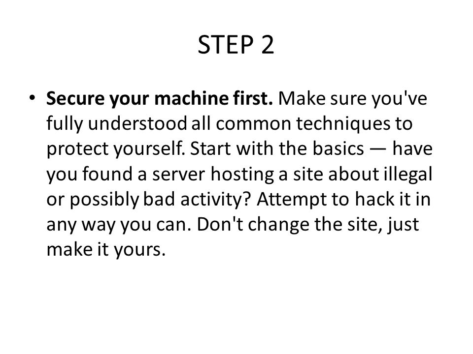 How to Hack Primarily, hacking was used in the