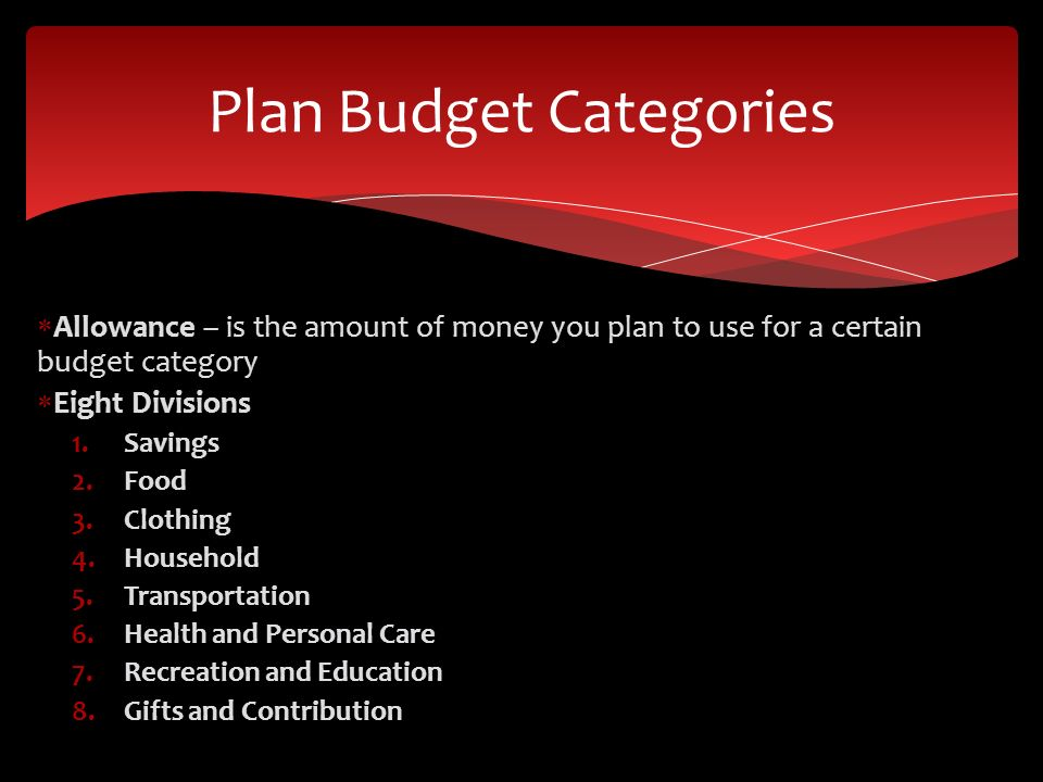 budgeting techniques ch 16 2 pob budget allows you to meet