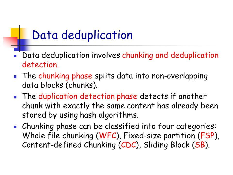 Evaluating memory compression and deduplication Yuhui Deng