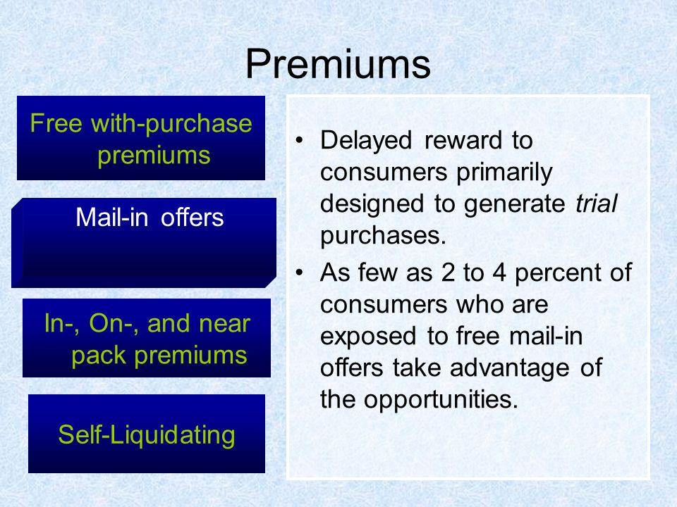 Self-liquidating premium