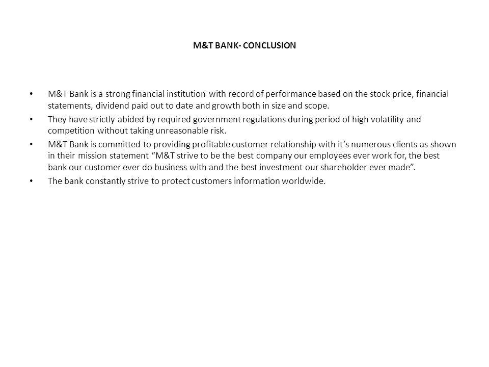 m&t bank competitors