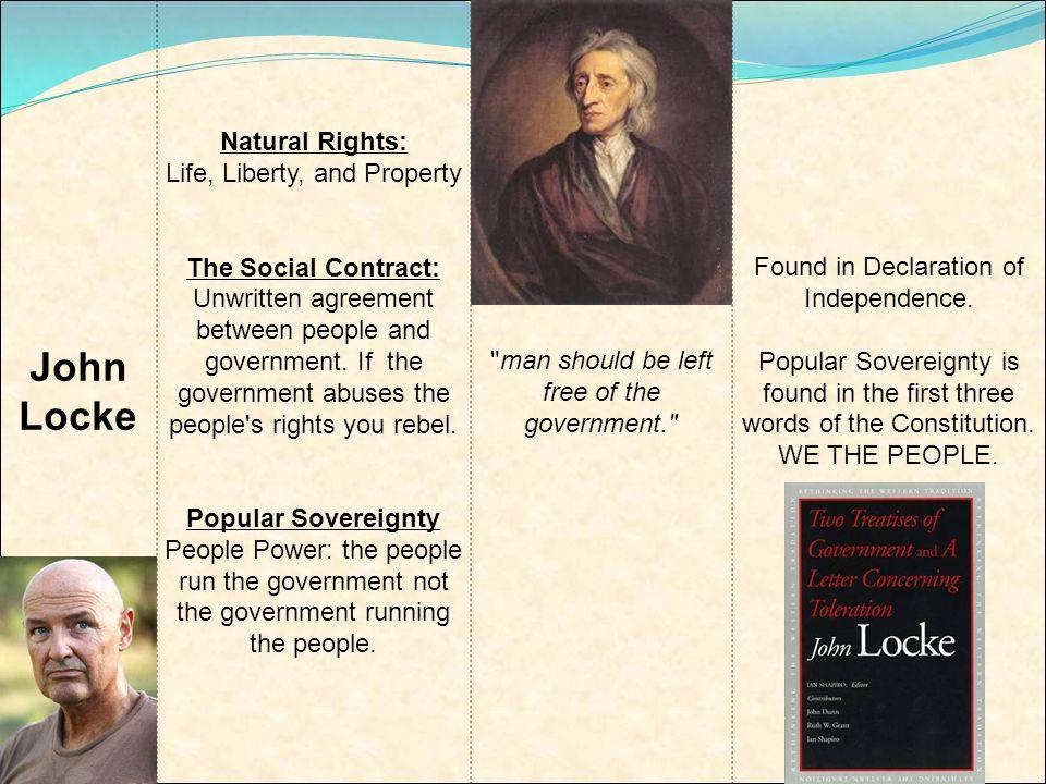 John Locke Natural Rights Life Liberty And Property The Social