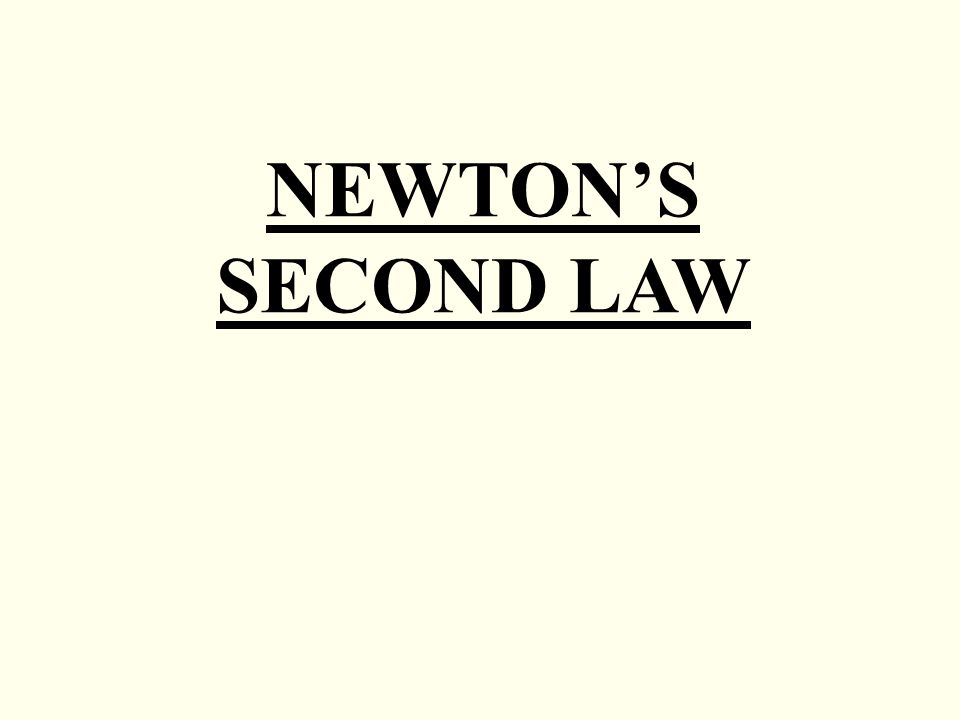 Newton's Second Law States The Resultant Force. 1 Newton's Second Law. Worksheet. Unit V Worksheet 2 Kinematics Newton S 2nd Law At Mspartners.co