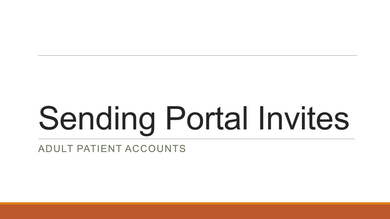 SOCPA Connect Plus Patient Portal  Intro to the Follow My