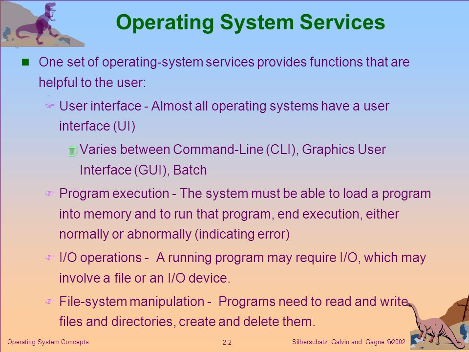how does the operating system support the benihana concept 10 operating systems questions and answers on security the following sections deals with different aspects of security these include security of system threats, detection of intrusions, making systems and facilities secure and the concept of cryptography used for security.