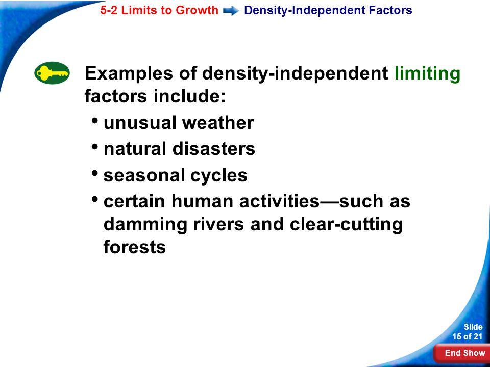 End Show Slide 1 Of 21 Biology Mr Karns Limiting Factors Ppt