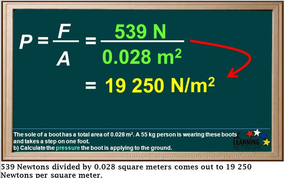 Here We Ll Review The Formula To Find Pressure And Use It