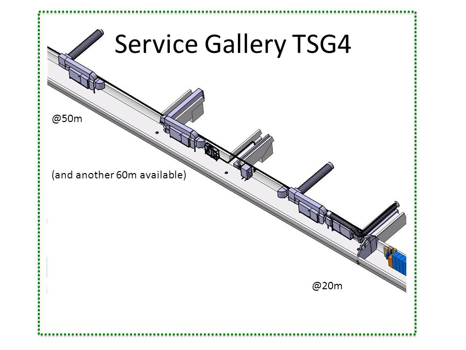 (and another 60m available) Service Gallery TSG4
