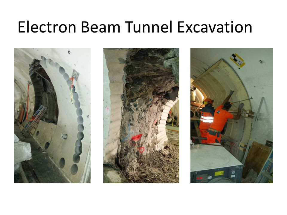Electron Beam Tunnel Excavation