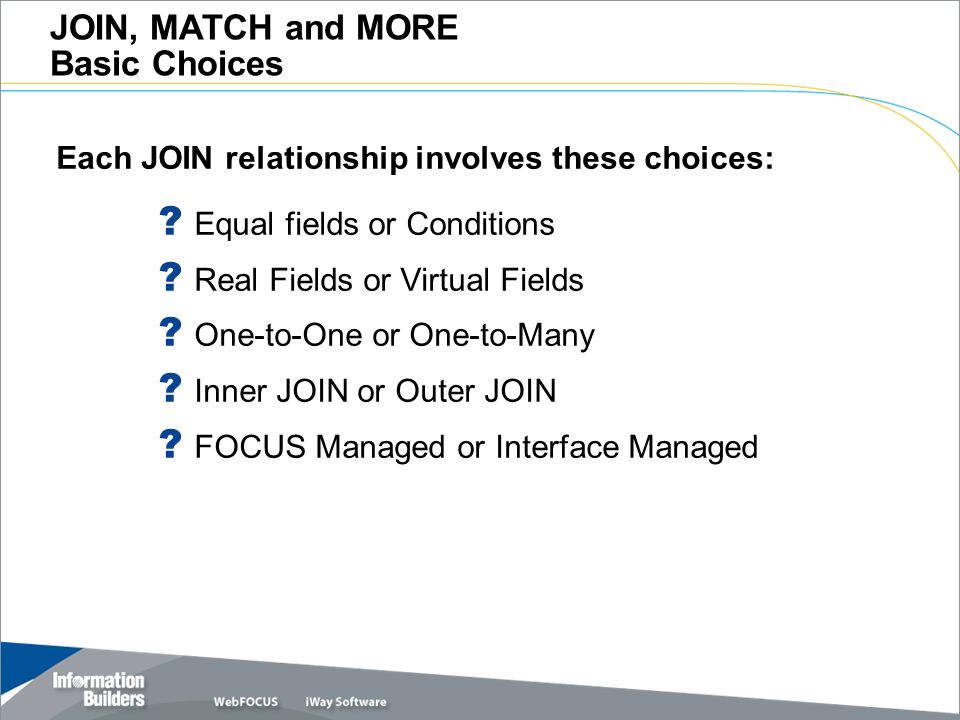 join match and more