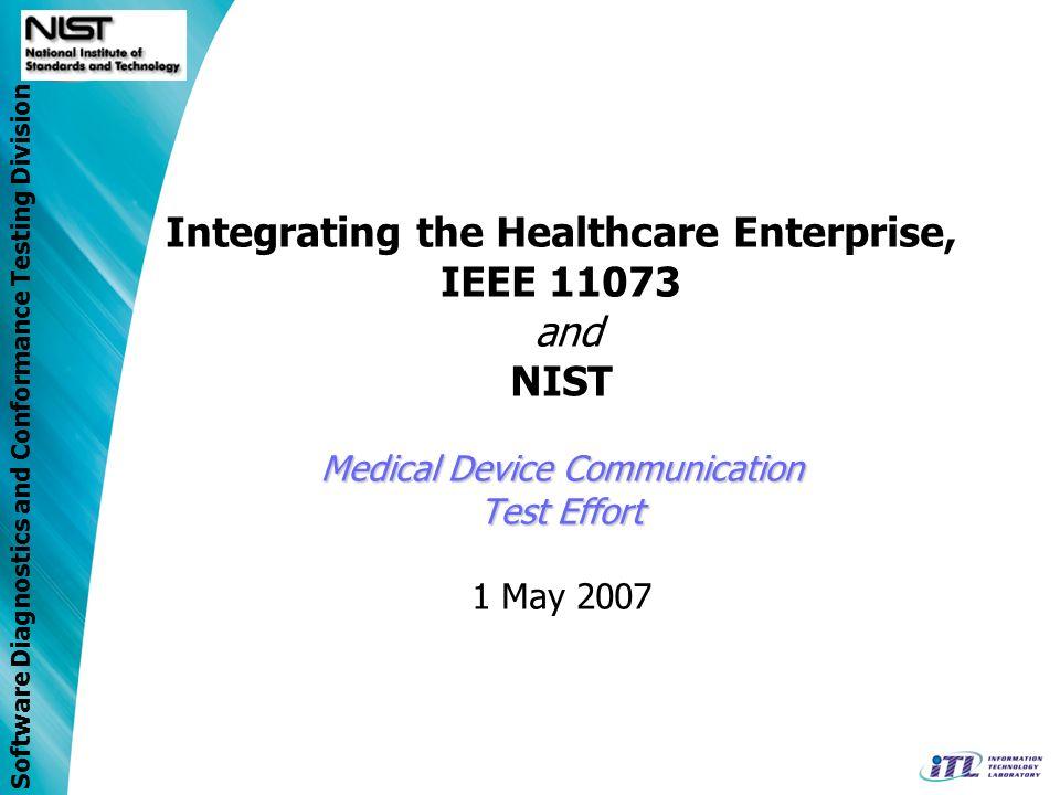 Software Diagnostics and Conformance Testing Division