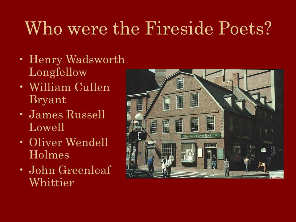 who were the fireside poets