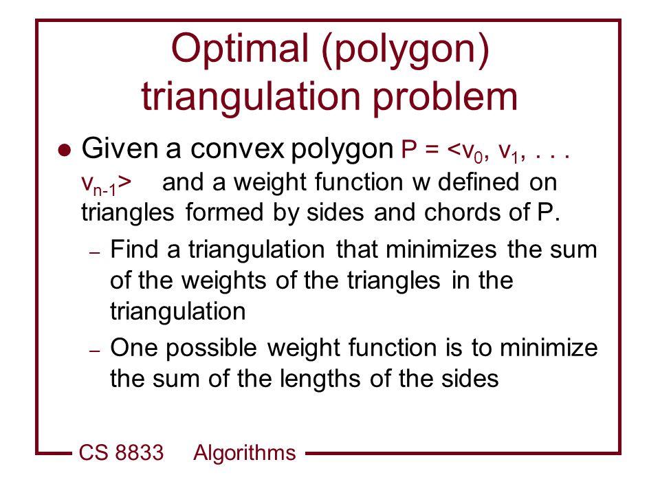 CS 8833 Algorithms Algorithms Dynamic Programming. - ppt download