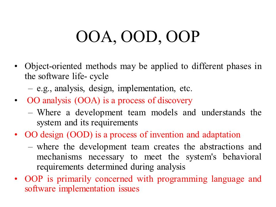 1 Comp 350 Object Oriented Analysis And Design Lecture 1introduction References Craig Larman Chapter Ppt Download