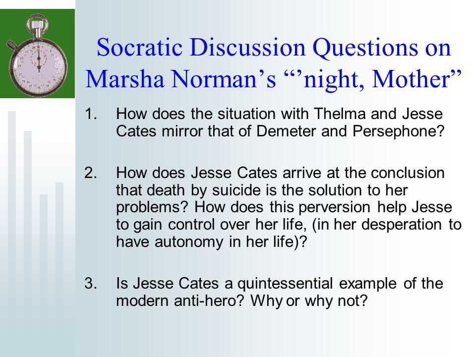 night mother analysis