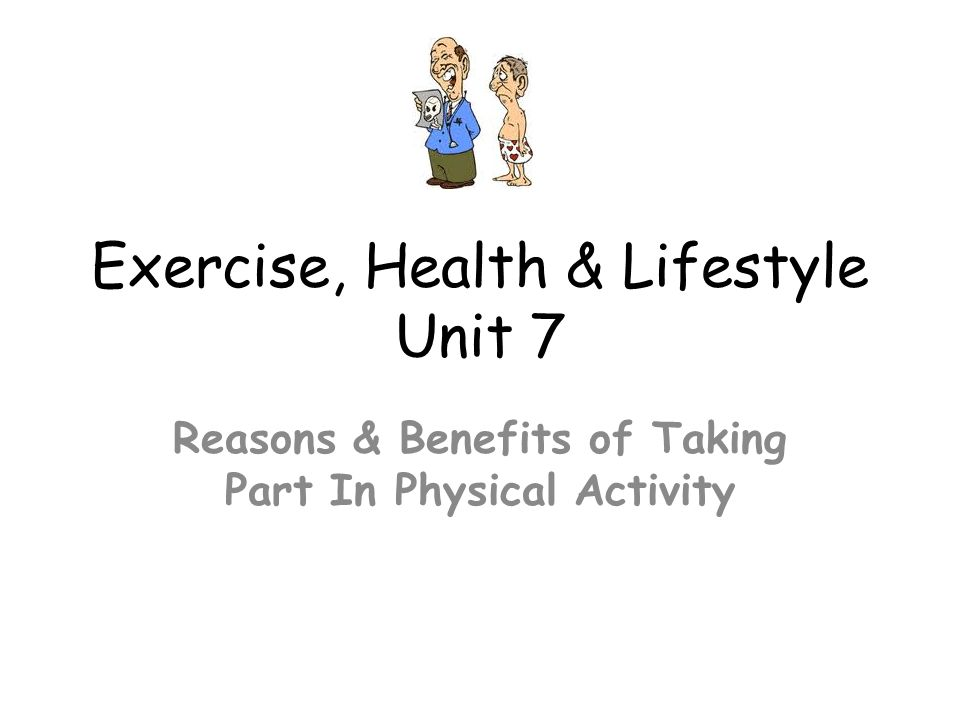 exercise health and lifestyle