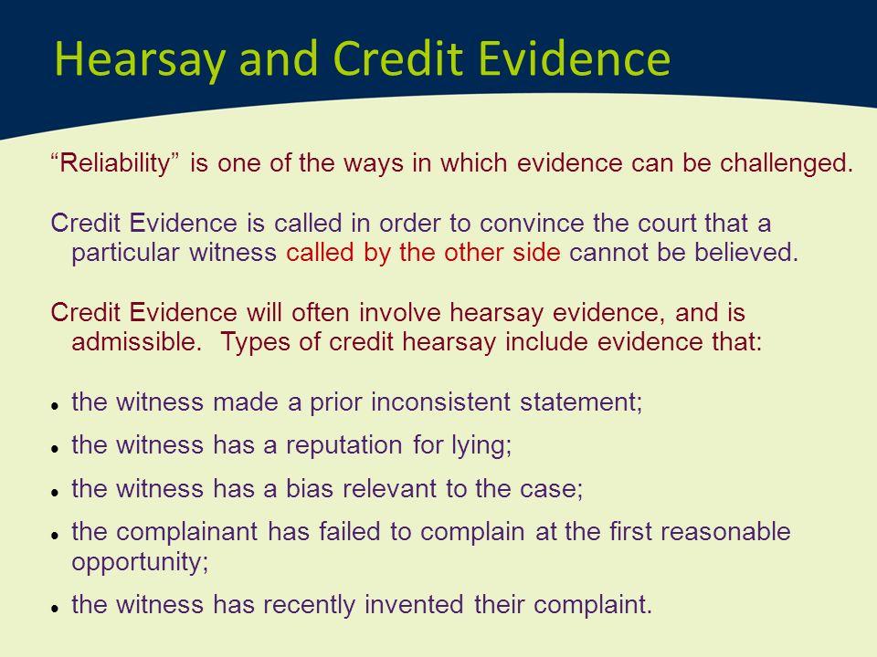 hearsay outline