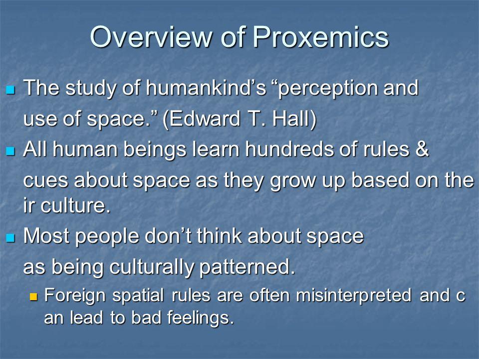 edward t hall proxemics