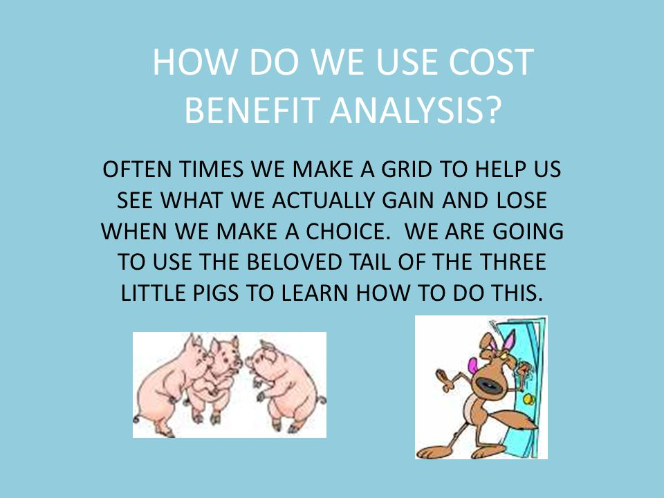 analysis of the three little pigs