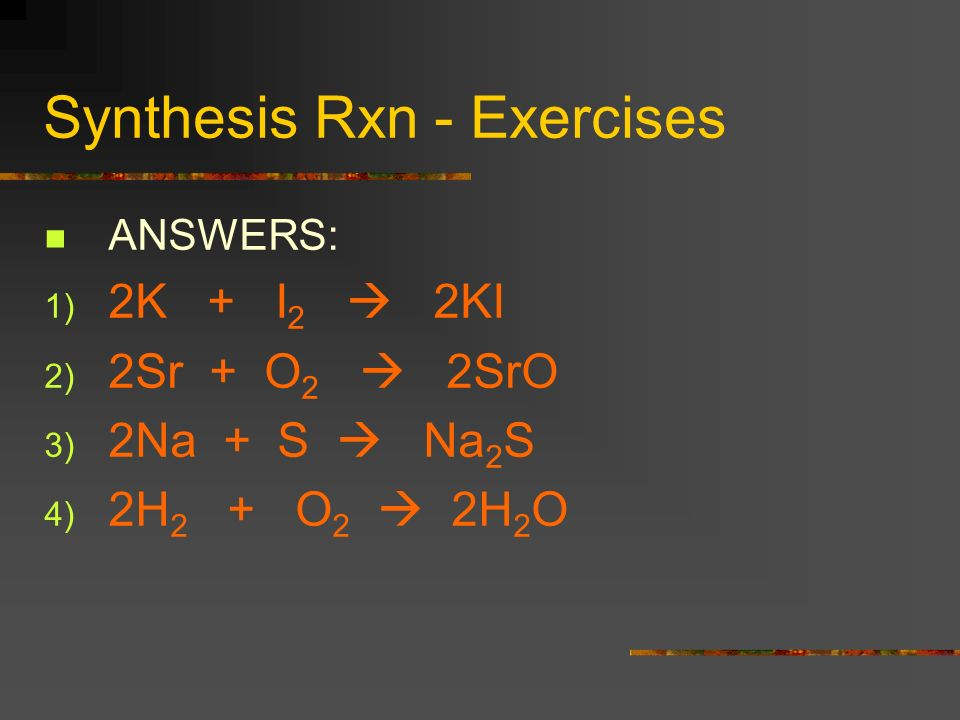 Types Of Chemical Reactions Honors Chemistry Mr Rivas Ppt Download