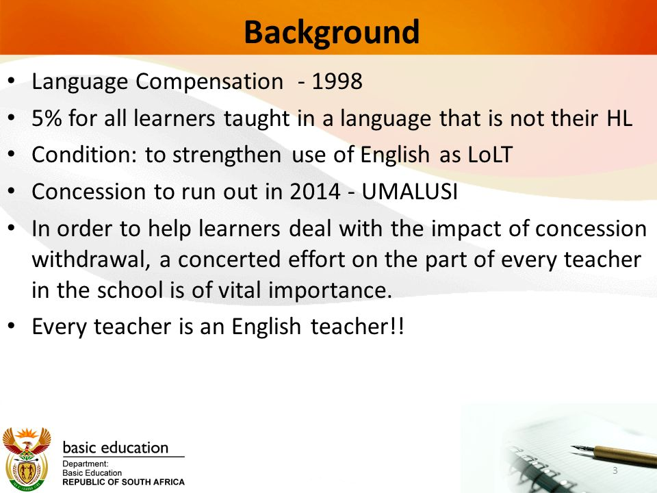 theme of education in the english teacher