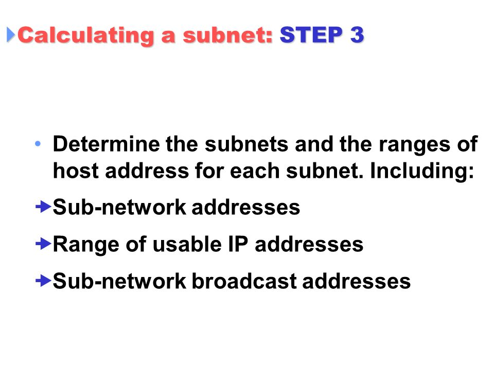 Layer 3: Internet Protocol   Content IP Address within the