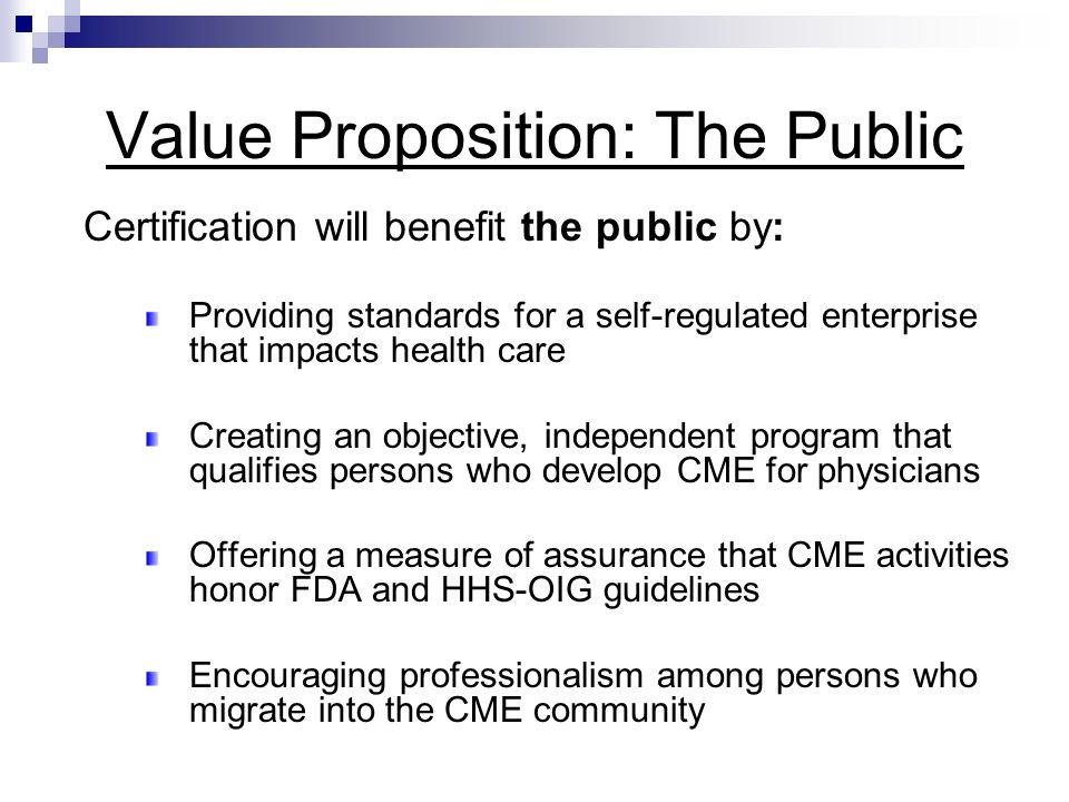 Ccmep A Certification Program For Cme Professionals Serving The