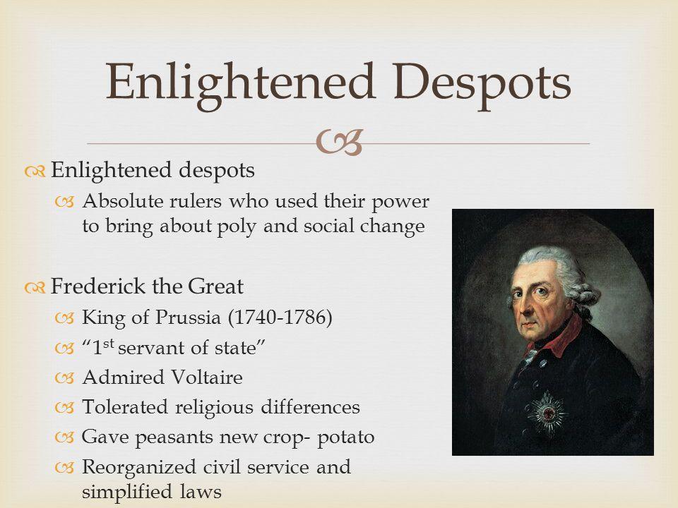 frederick the great enlightened despot