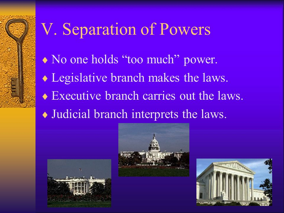 IV. Federalism  The division of power between State and National Governments.