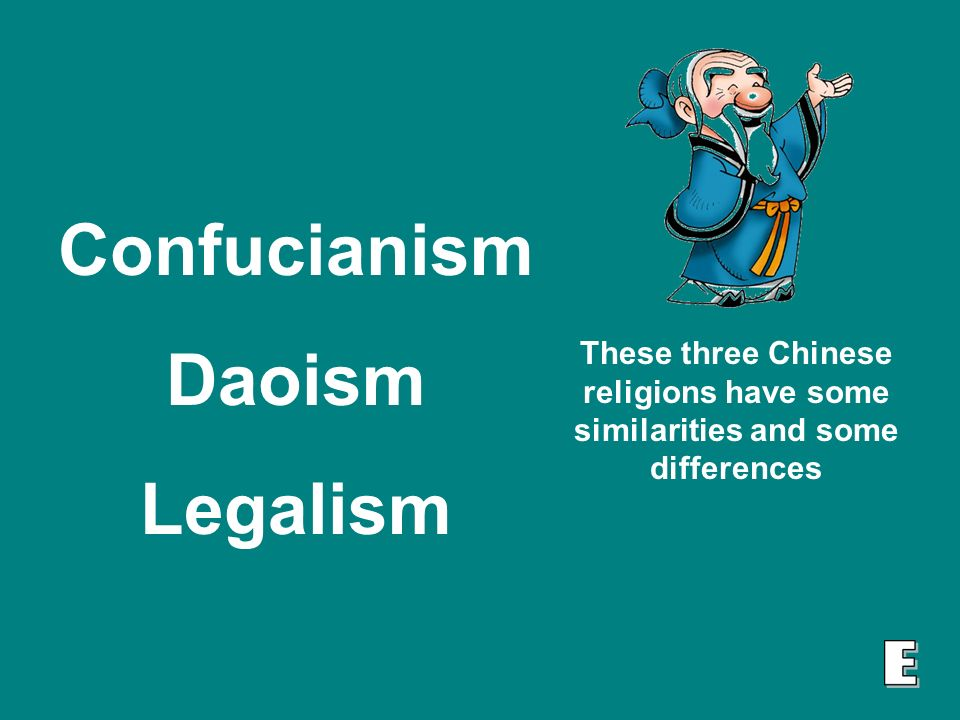 daoism and legalism similarities