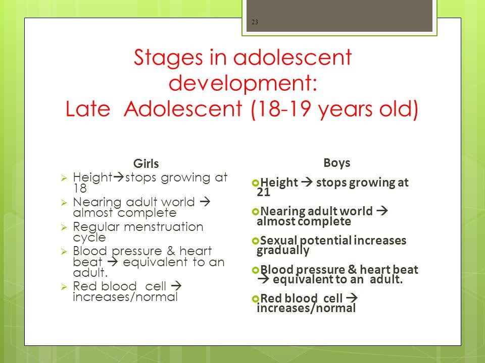 Physical Development 1  Adolescent Physical Development ppt