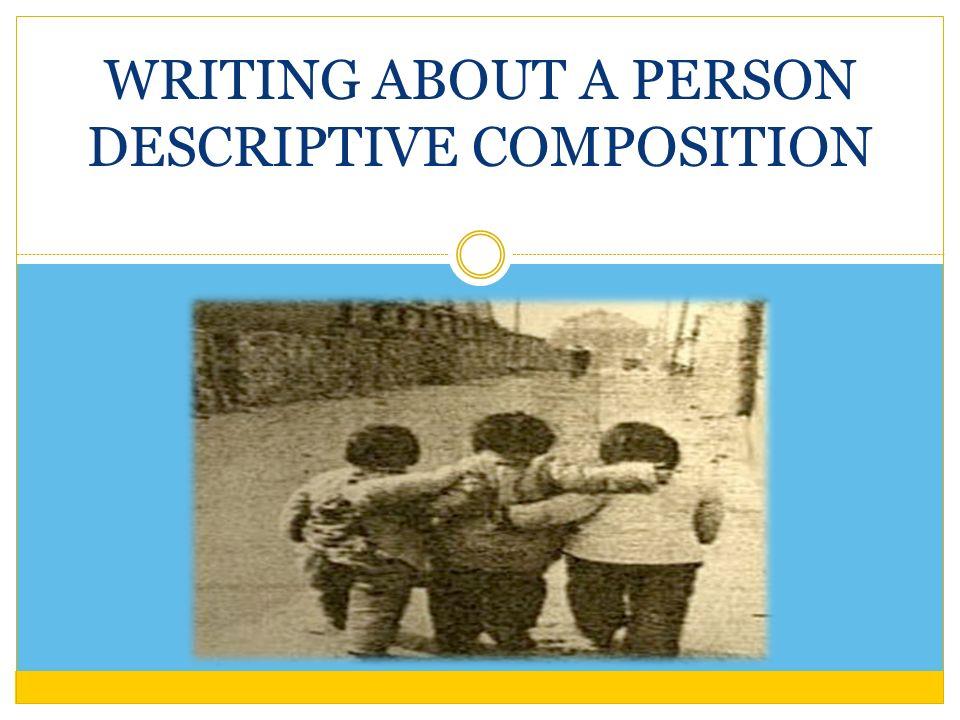 what is descriptive composition