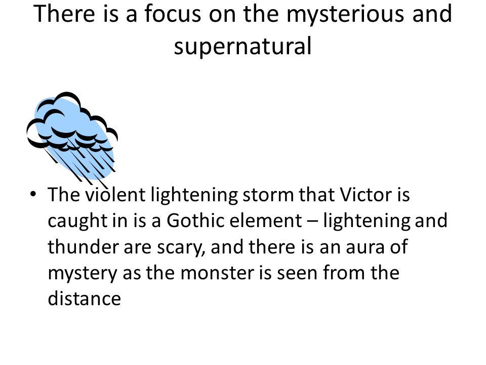 what makes frankenstein a gothic novel