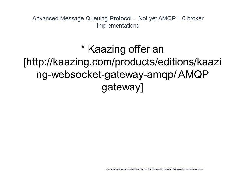 AMQP - ppt download