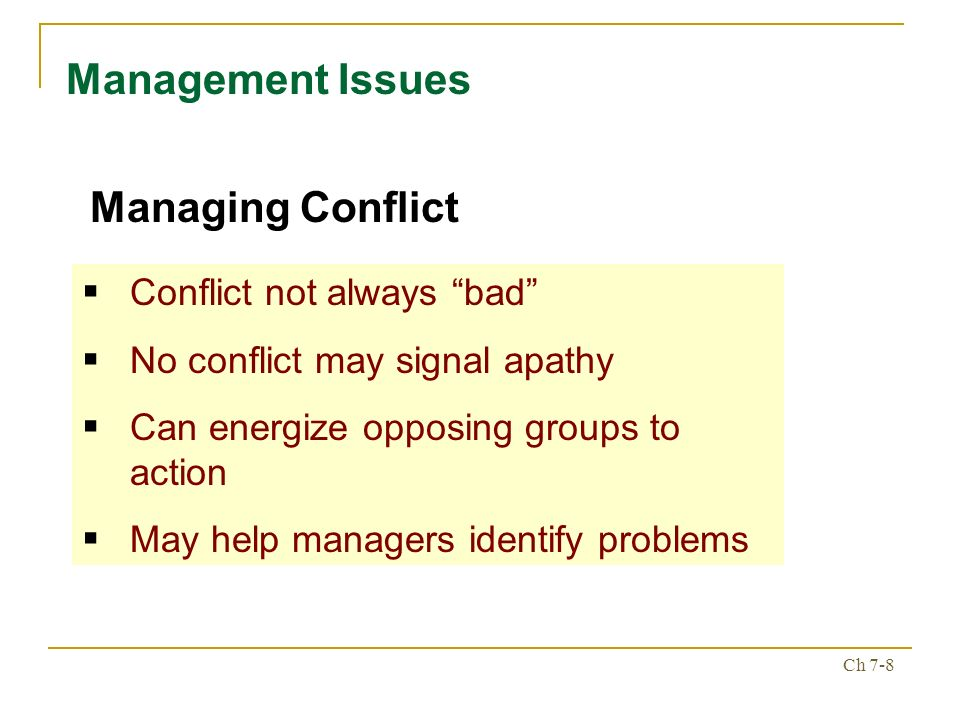 conflict management research papers Pc-13: apply conflict management skills to resolve issues and/or build team alliances break into two teams based on the first letter of your last name.