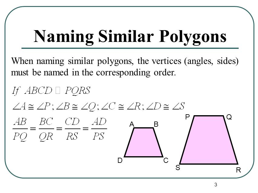 3 Naming Similar Polygons When The Vertices Angles Sides: Worksheet Similar Polygons And Triangles At Alzheimers-prions.com