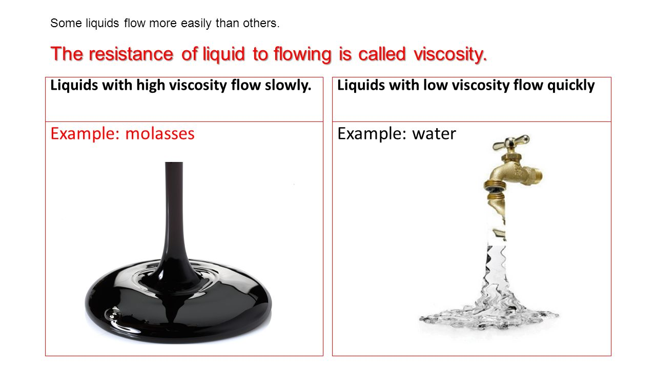 I would like to transfer high viscosity fluids without changing.