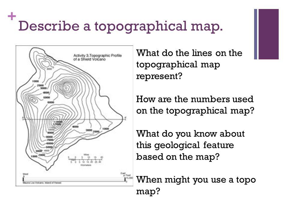 Define Topographic Map on