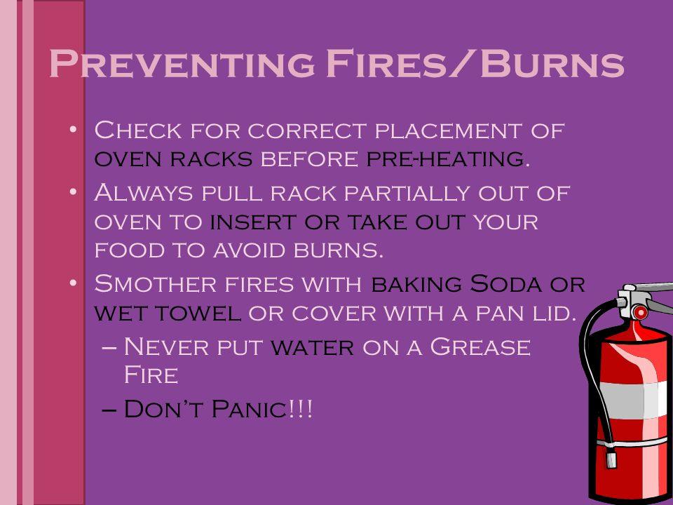 Kitchen Safety Be SAFE!!!. Kitchen Safety Tips for Preventing Burns ...