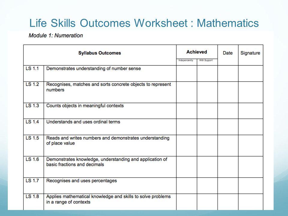 Printable Worksheets special education life skills worksheets : Life Skills Math Worksheets - Checks Worksheet