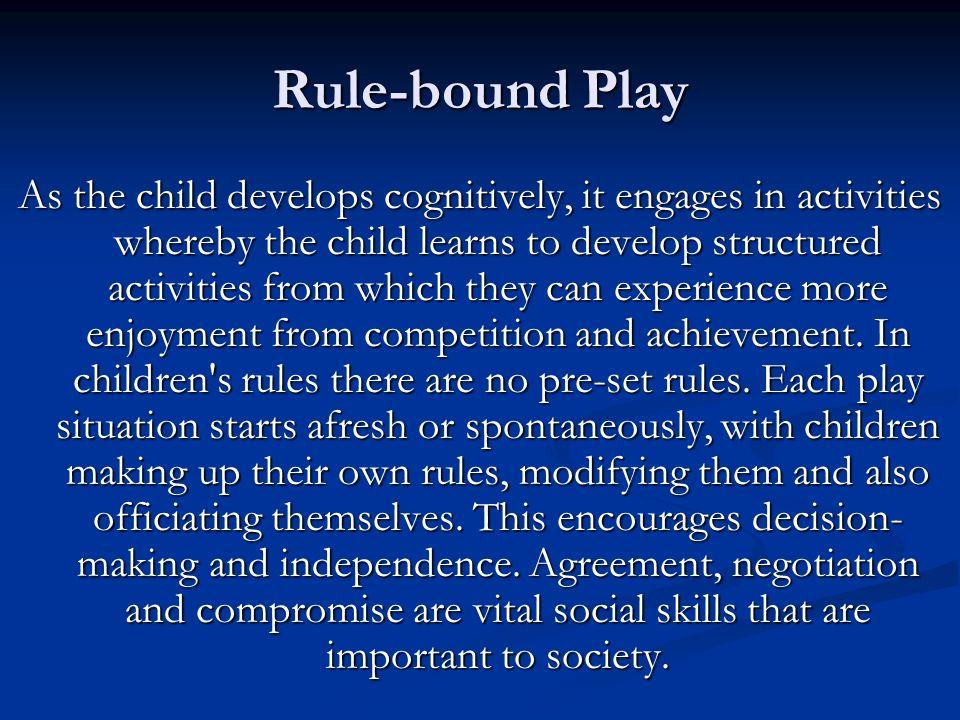 Bound enjoyment play