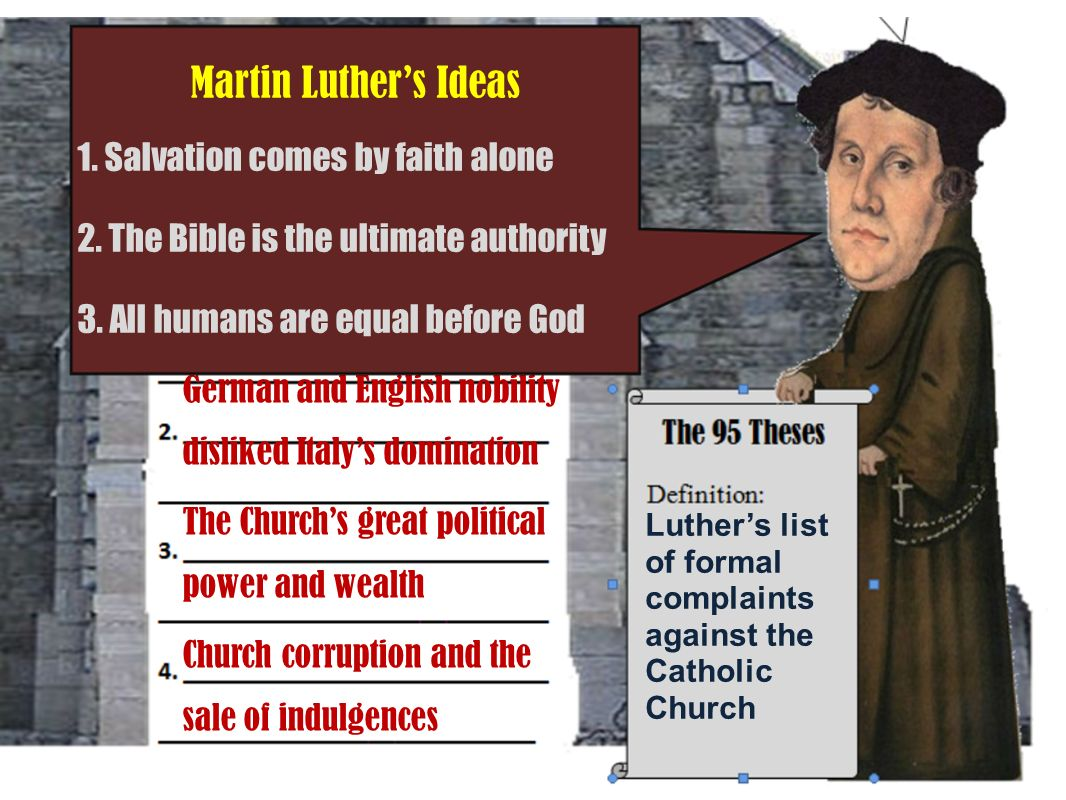 95 theses out of love for the truth and the desire to bring it to