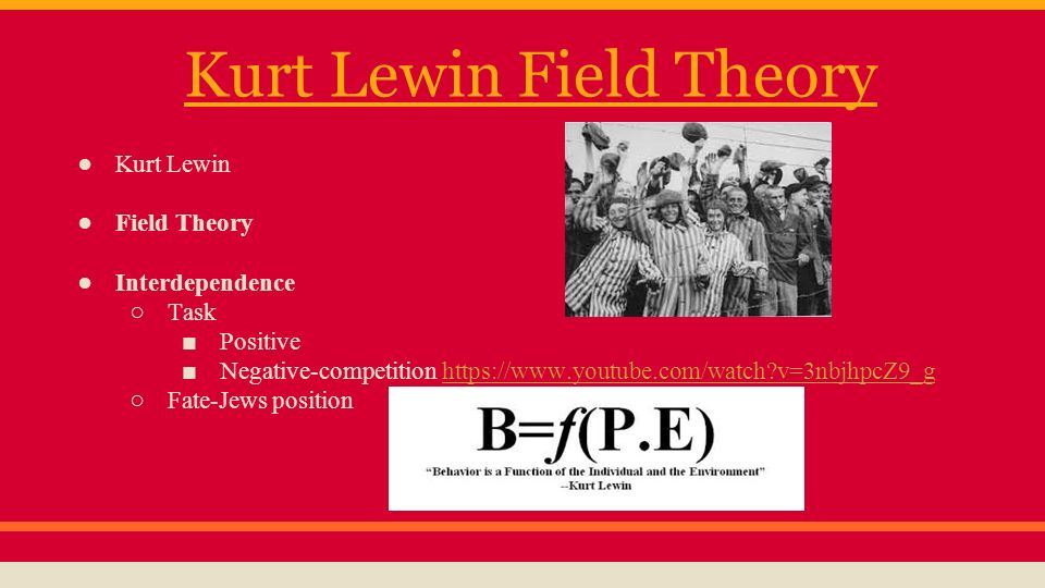 lewin field theory of learning