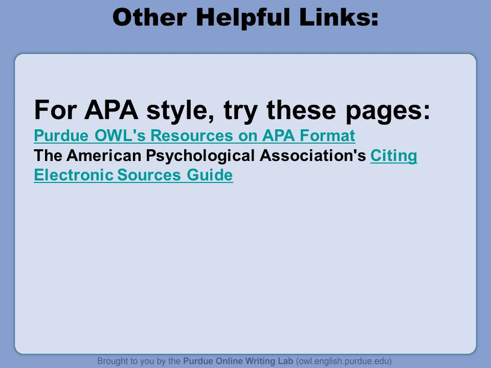 apa formatting online The authority on apa style and the 6th edition of the apa publication manual find tutorials, the apa style blog, how to format papers in apa style, and other resources to help you improve your writing, master apa style, and learn the conventions of scholarly publishing.