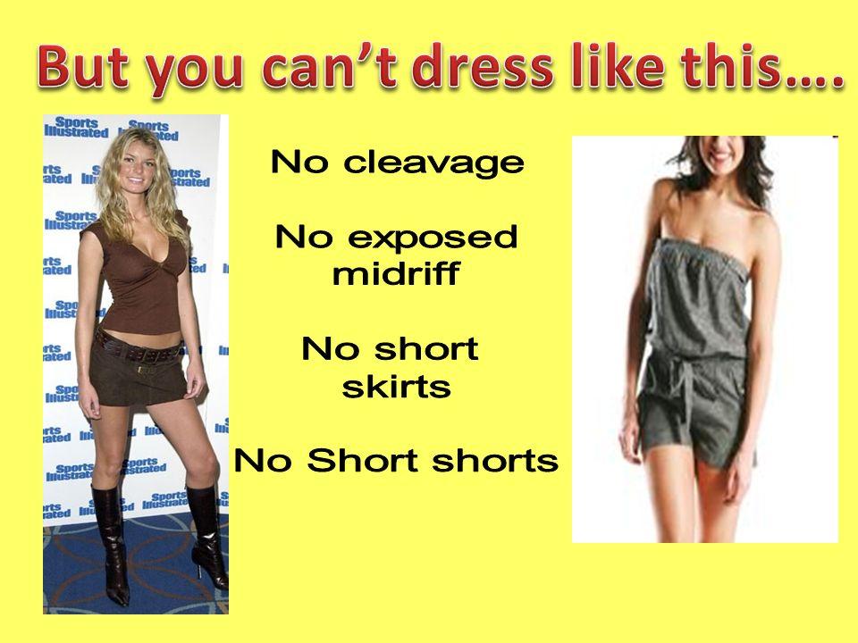 Fayetteville High School Dress Code *Dress Code Regulations