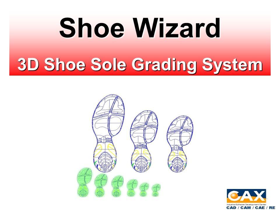 Shoe Wizard 3D Shoe Sole Grading System  Product