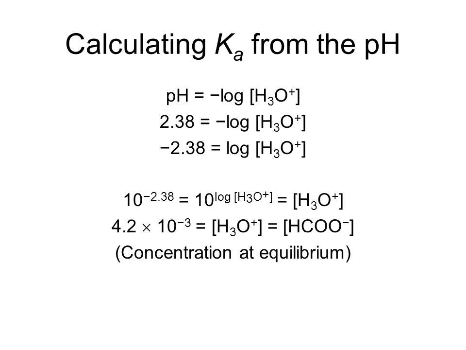Weak Acids Bases Chapter 16 Dissociation Constants Since Weak