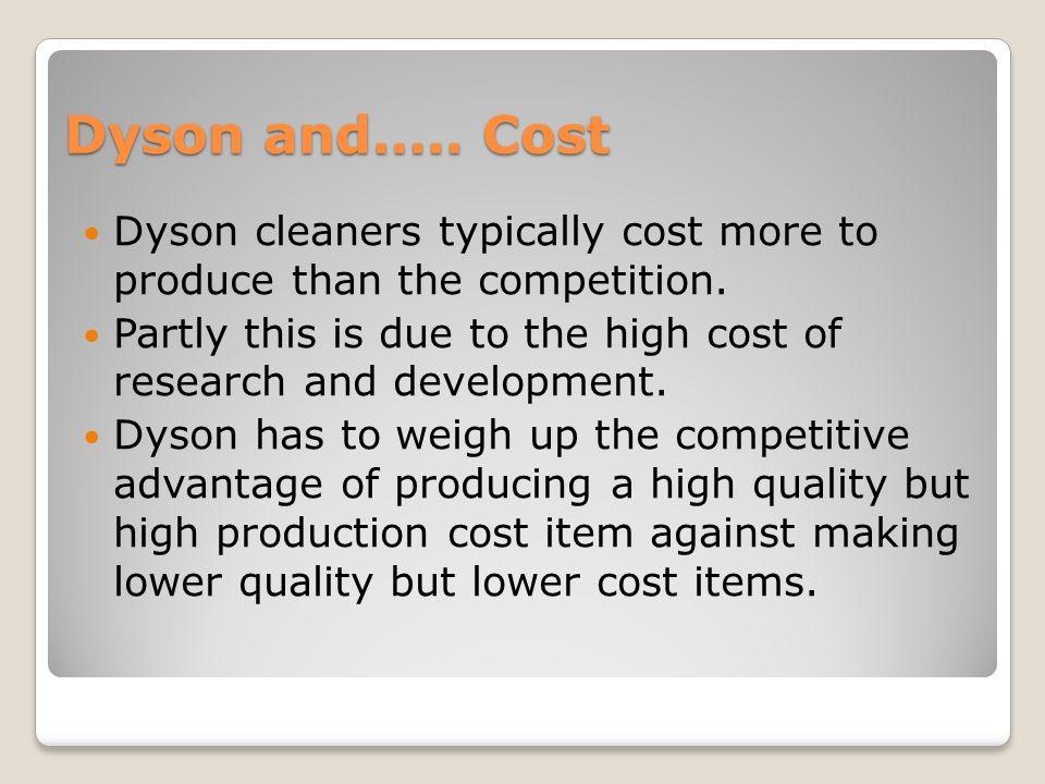 dyson competitive advantage