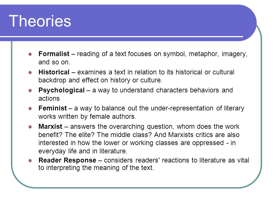 Introduction To Literary Criticism Cp English Iv Ppt Download