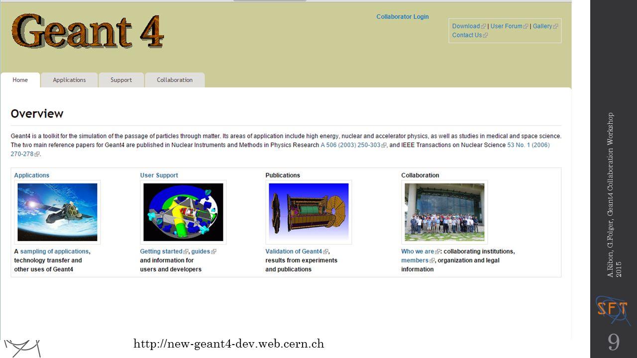 Migration to Drupal Status Gunter Folger CERN/PH/SFT Geant4 collaboration workshop ppt download - 웹